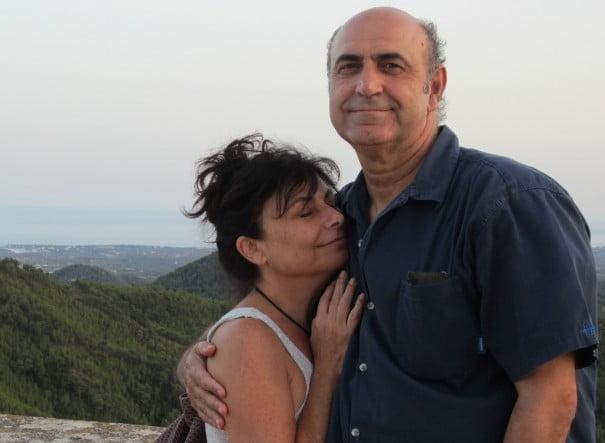 Enrique y Pilar