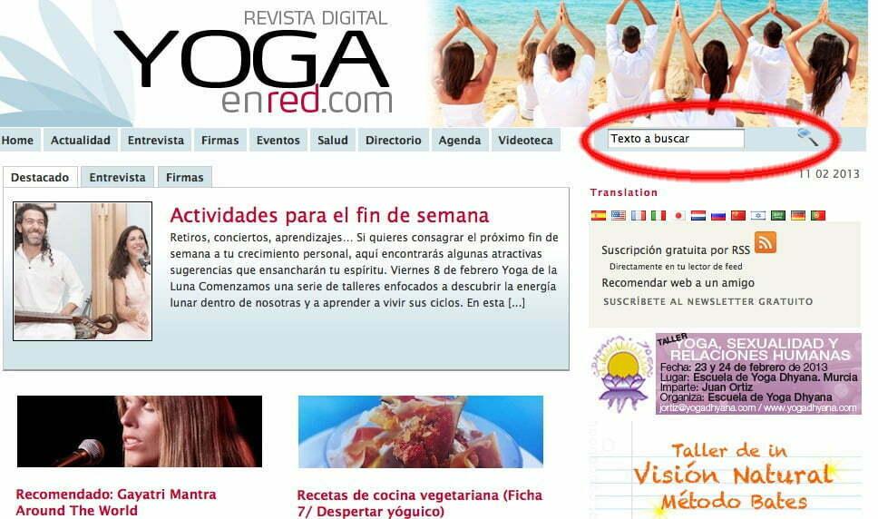 lo mejor del yoga solo con un clic yoga en red