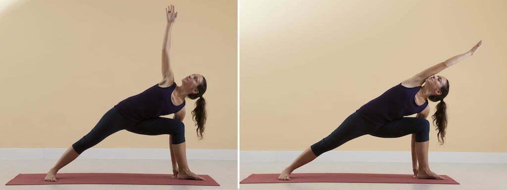 utthita parsvakonasana yoga en red rh yogaenred com Iyengar Yoga Poses Chart Iyengar Yoga Positions