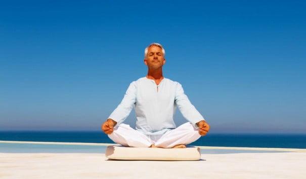 Человек медитации