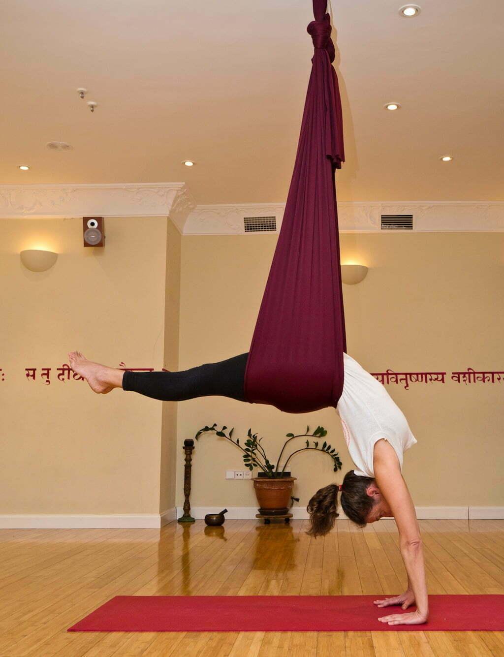 yoga aereo madrid