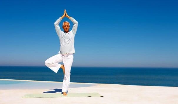 Yoga plage