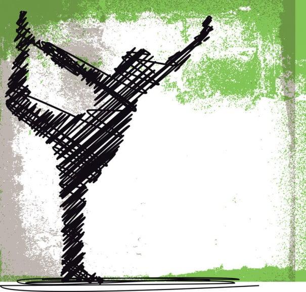 Yoga trazos
