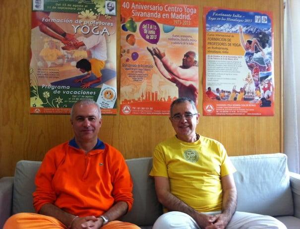 Swami Atmaramananda y Gopala
