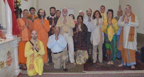 Encuentro hindues