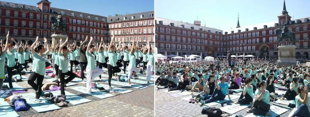 yoga sabados madrid