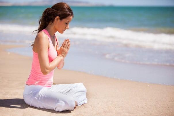 Meditar Playa