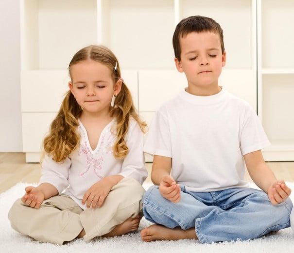 Chicos yoga