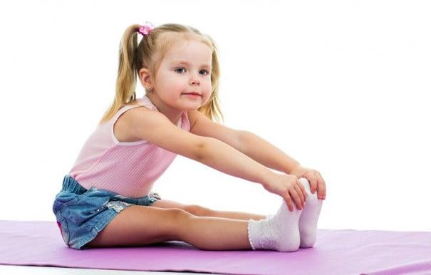 Garota de yoga