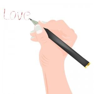 Mano escribir