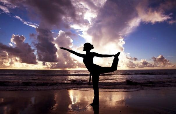 Yoga silueta