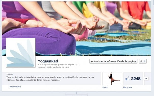 Yoga en Red Facebook