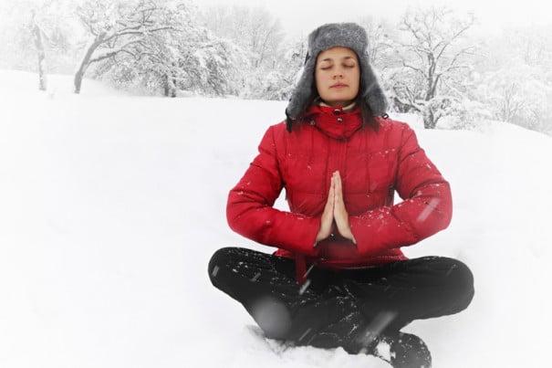 Yoga invierno
