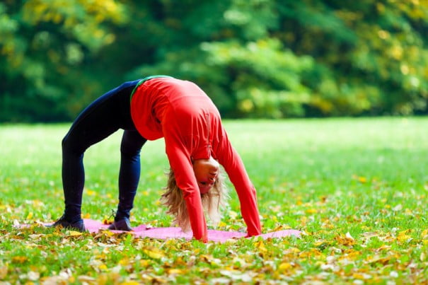 Yoga otoñal