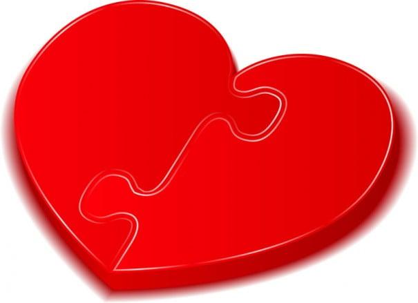 puzzle del cuore