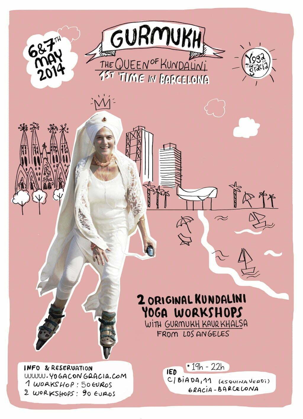 Gurmukh, the Queen of the Kundalini Yoga, Barcelona | Yoga network