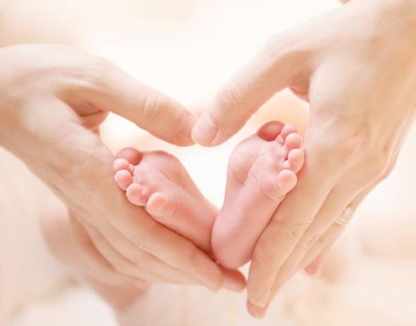 gratitud pies bebe