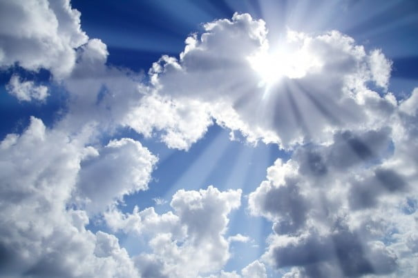 Cielo nubes