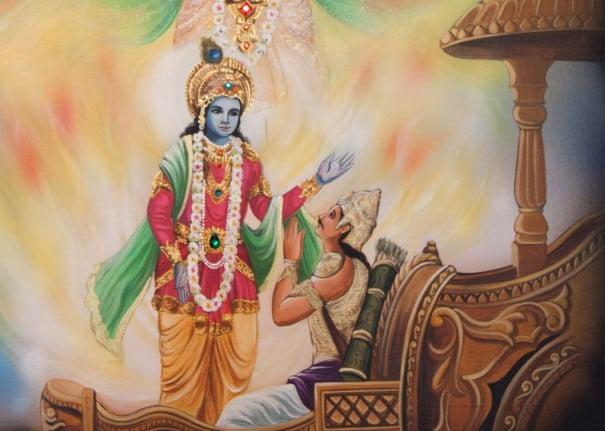 Gita-Krishna-Arjuna