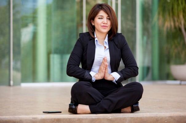 meditar oficina