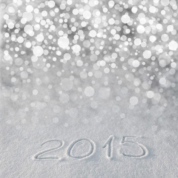 2015 Feliz ano