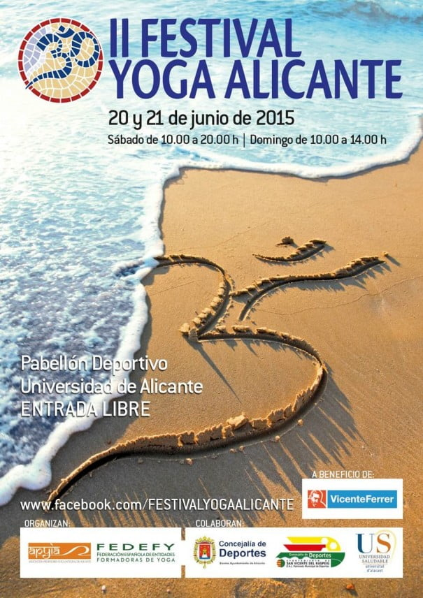 Cartel yoga Alicante
