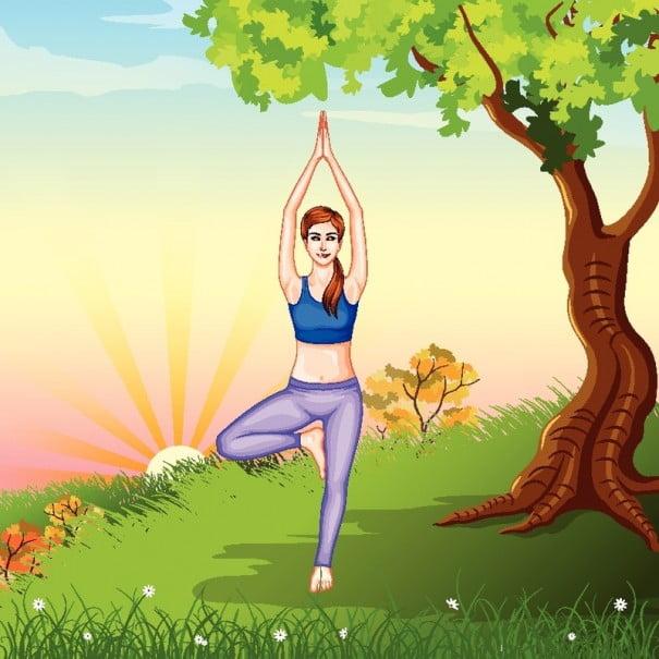 ilustracion Yoga_arbol