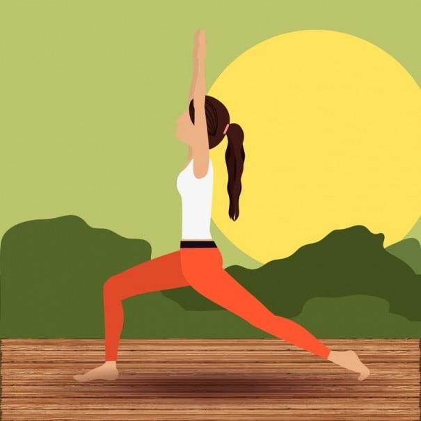 Yoga ilustracion