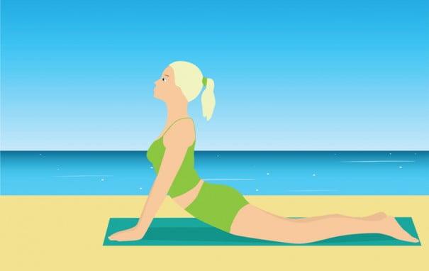 YogaPlaya ilustracion