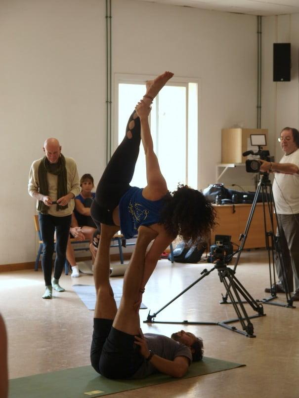 Toni Otero encuentro yoga