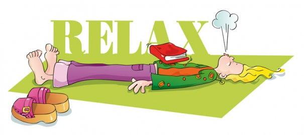 férias de relaxamento yoga