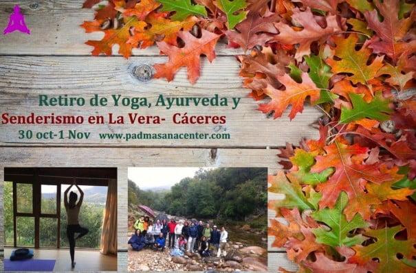 yoga y senderismo