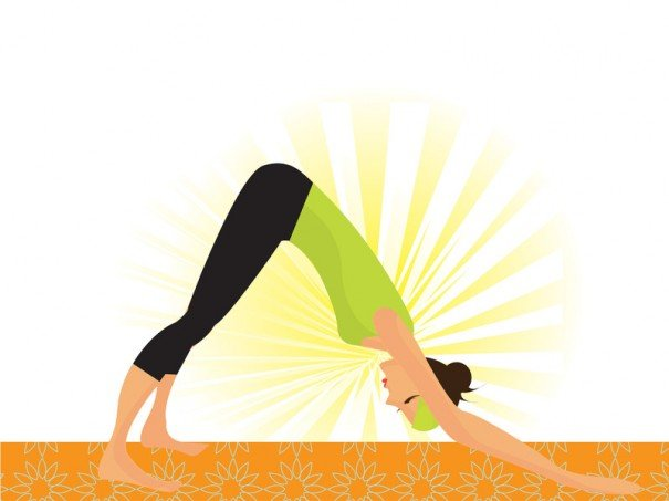 yoga Adho mukha