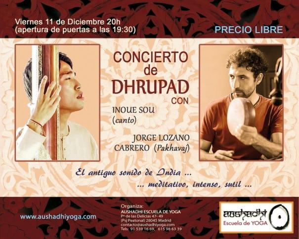 Dhrupad concierto