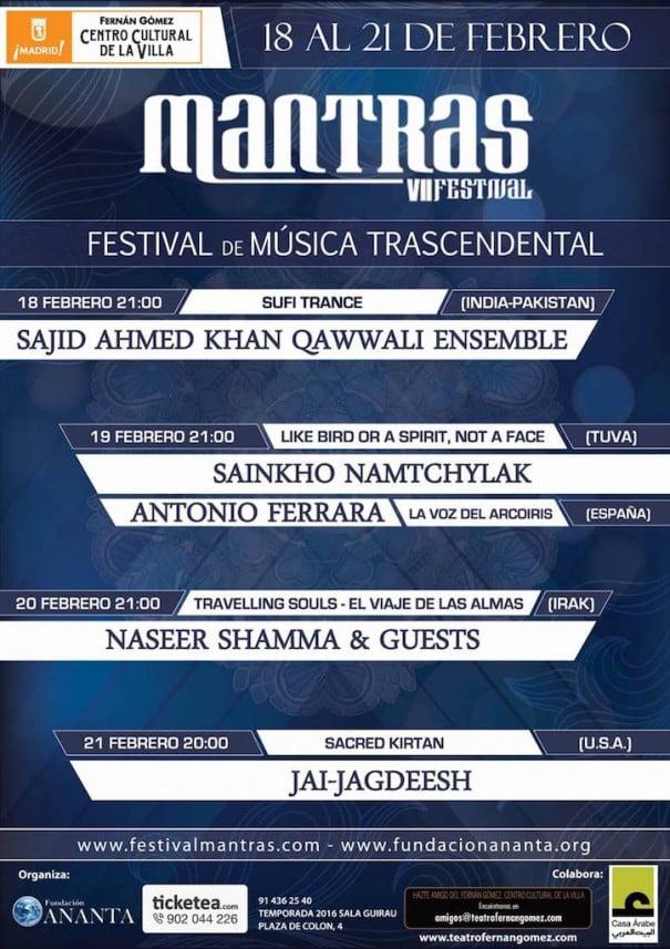 Mantras festivals