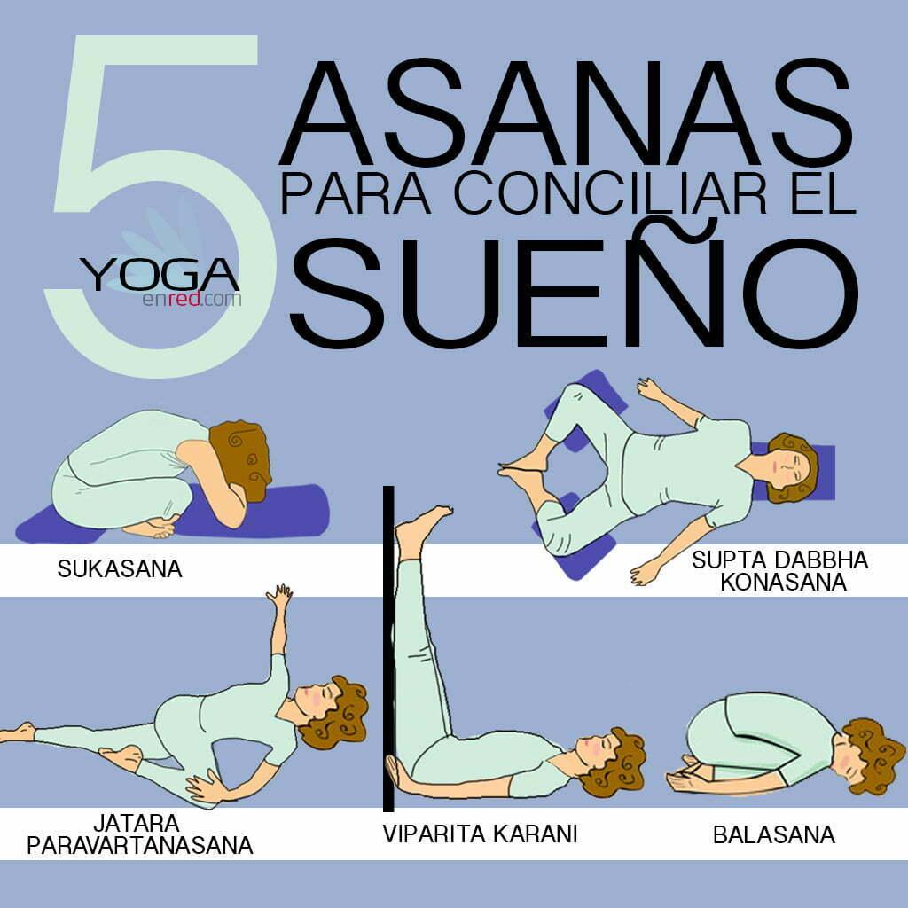 5 asanas para dormir bien yoga en red - Para dormir bien ...