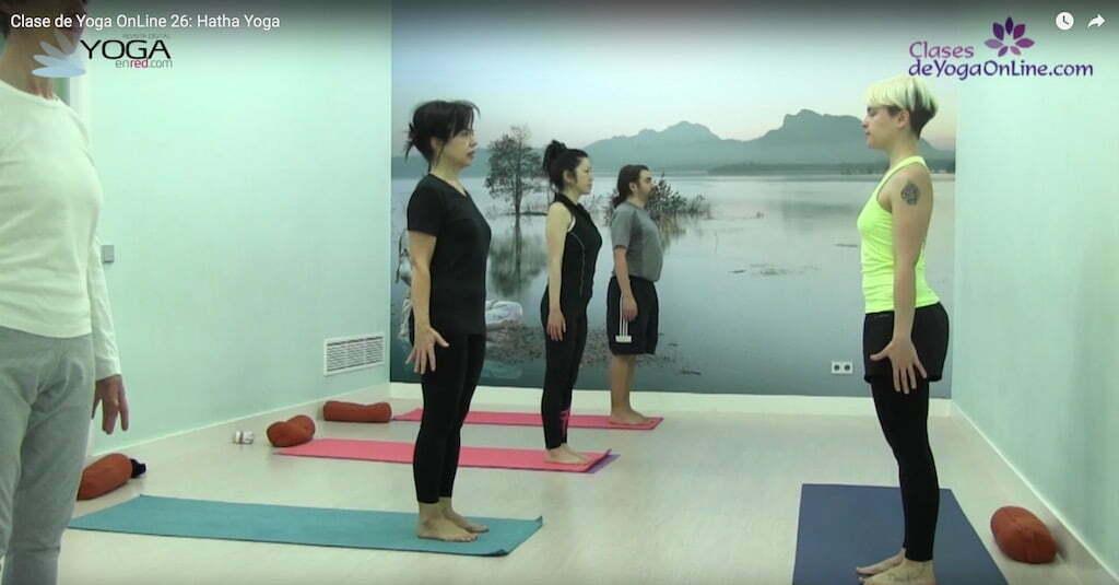 Clase de yoga online 26 movilidad de la pelvis yoga en red - Clases de yoga en casa ...