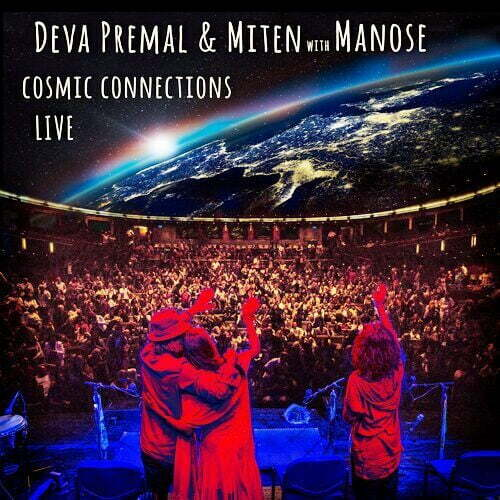 Cosmic Connections Live CD cover (Deva Premal)
