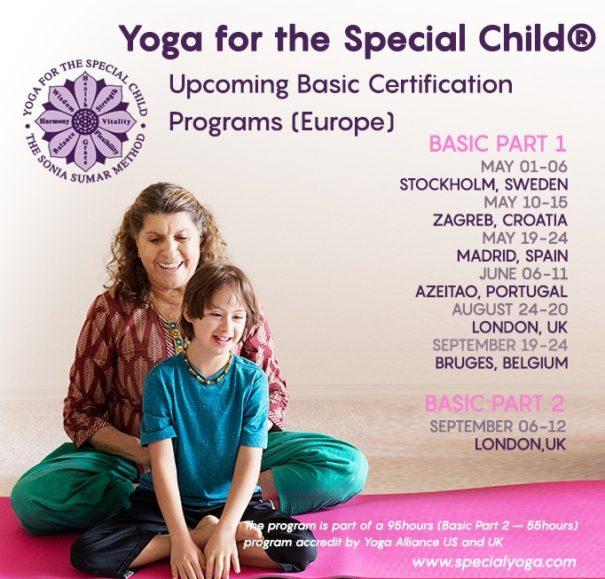 Formación de Yoga para el Niño Especial