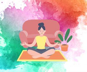 瑜伽,冥想,瑜伽