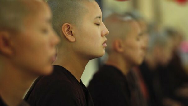 Pratyahara, budismo