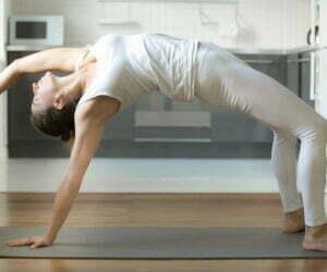 Yoga in cucina