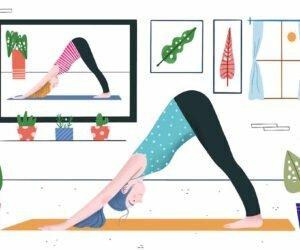 yoga covid