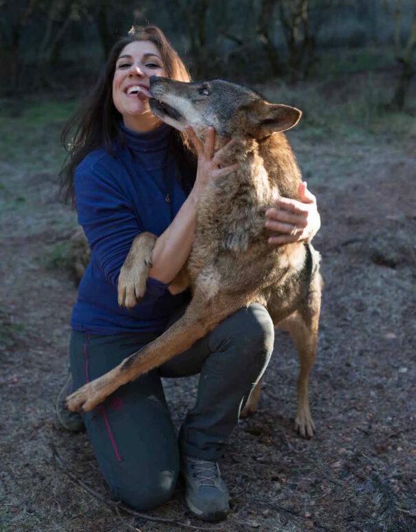 Yoga y lobos